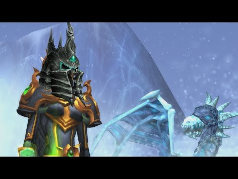The Story of Deathlord's Vilebrood Vanquisher - Patch 7.2 Death Knight Class Mount [Lore]