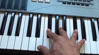How to play Tears Always Win on piano - Alicia Keys - Piano Tutorial