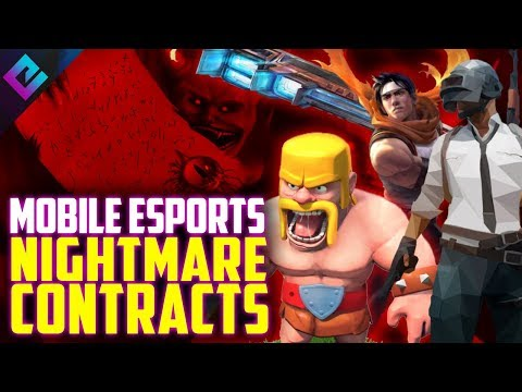 Mobile Esports Pro Contract Is Unbelievably TERRIBLE