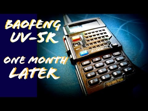 BAOFENG UV-5RE+ ONE MONTH WITH THE LATEST Ham Radio from China