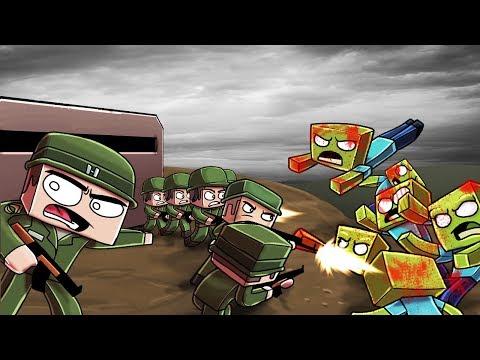 Minecraft | WORLD WAR 2 ZOMBIE INVASION - Zombie Challenge! (WW2 Apocalypse)