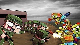 Minecraft   WORLD WAR 2 ZOMBIE INVASION - Zombie Challenge! (WW2 Apocalypse)