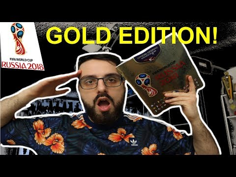 PANINI FIFA WORLD CUP 2018 ™ ALBUM ***GOLD EDITION*** REVIEW!