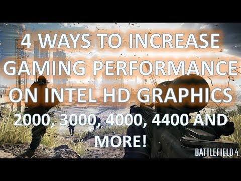 4 Ways to Increase Gaming Performance on Intel HD Graphics