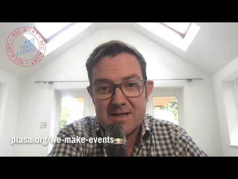 Martin Audio MD Dom Harter Supports #WeMakeEvents
