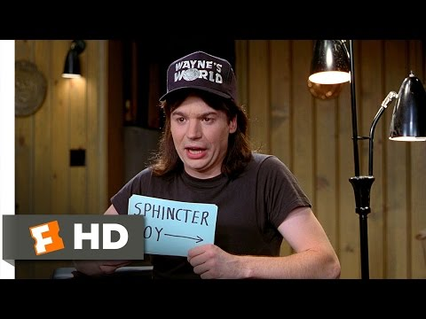 Wayne's World 910 Movie   Sphincter Boy 1992 HD