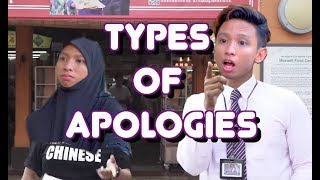 Types Of Apologies