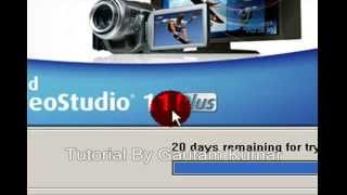 Ulead VideoStudio 11 Plus ( BASIC /STARTING) Video Editing