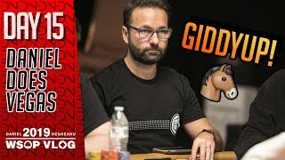 All Kinds of BREAKDOWNS on Day 2 of $10k HORSE - 2019 WSOP VLOG DAY 15
