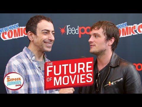 The Future of Movies (Josh Hutcherson and the cast of Hulu's Futureman)