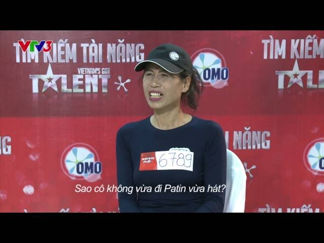 Vietnam's Got Talent 2014 – Cô gái Patin – TẬP 04 – Nguyễn Thị Thơi