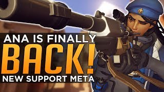 Overwatch: Ana is Finally BACK! - New Support Meta thumbnail