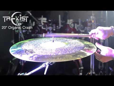 """Trexist Cymbals 20"""" Organic Crash"""