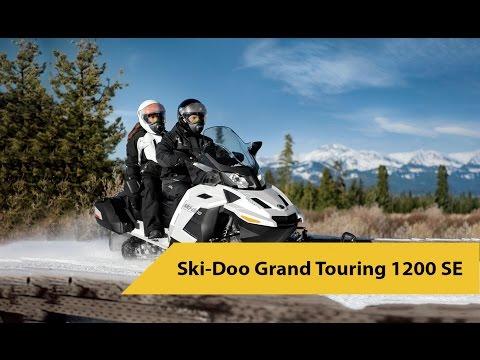 Обзор Ski Doo Grand Touring 1200 SE