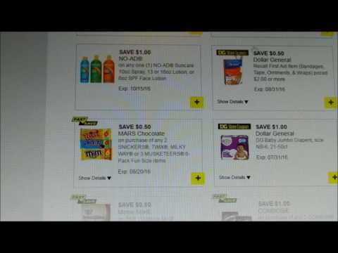 How To Use Dollar General Digital Coupons