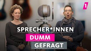 Sprecher korrigieren immer alle! | 1LIVE Dumm Gefragt