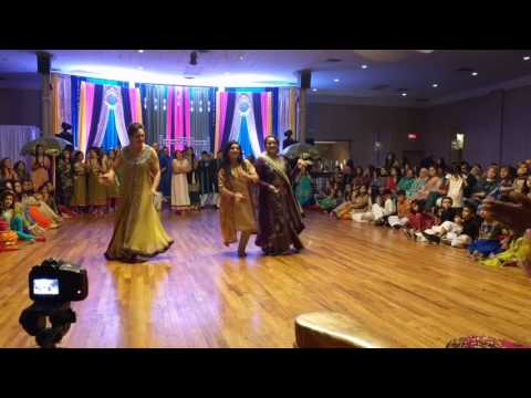 Sara & Atif Mehndi Dance 2016 (girls side)