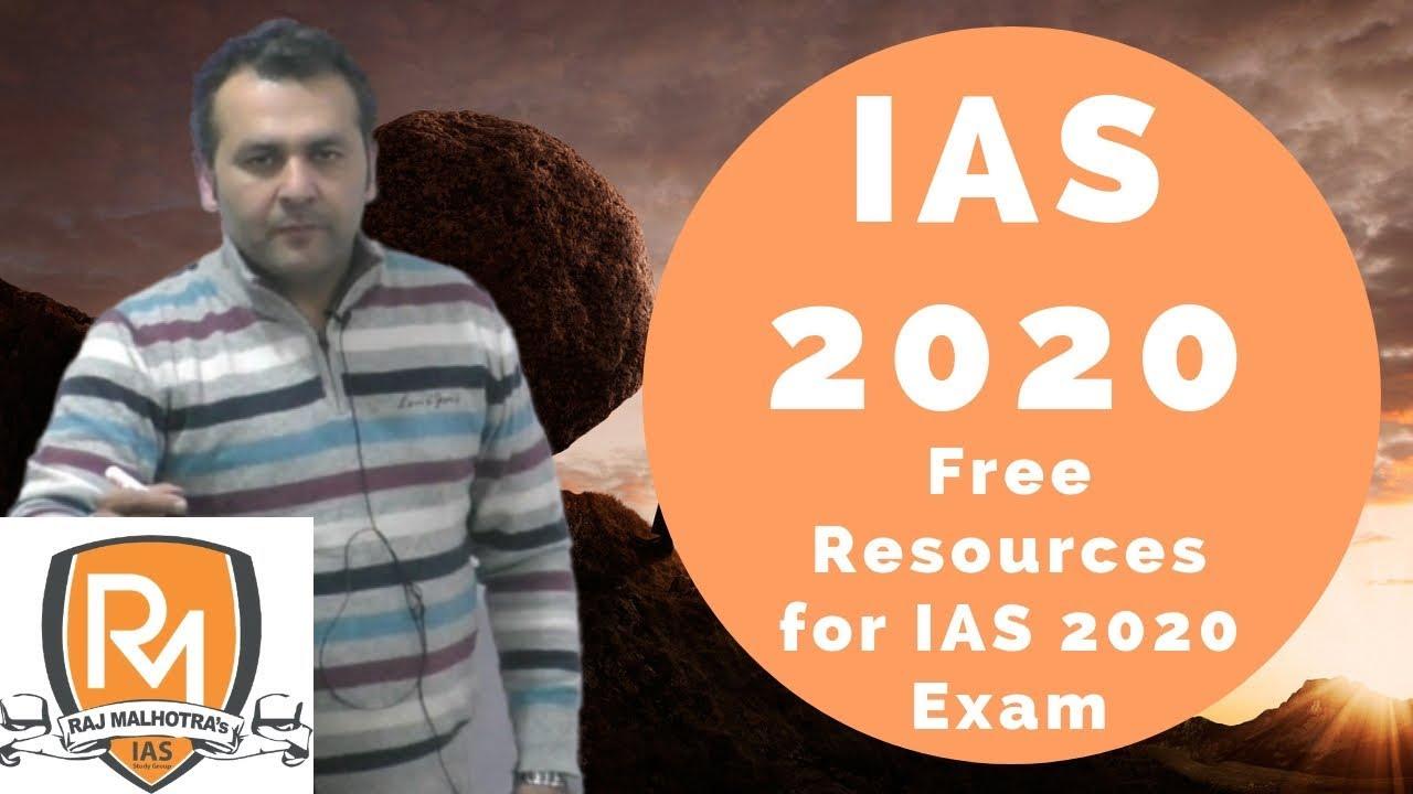 IAS 2020 - Free Online Courses for IAS 2020 Exam - Courses for  Pre+Mains+Interview for IAS 2020