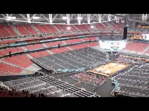 2017 Final Four Worst Seats at University of Phoenix Stadium