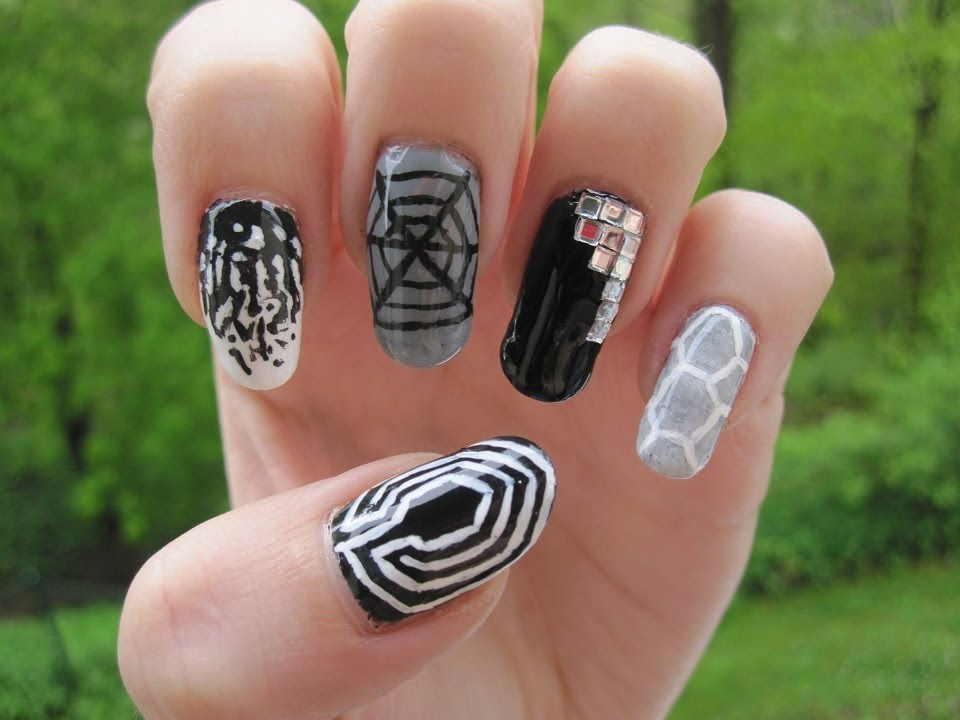 Kpop: EXO - Overdose nail art - YouTube