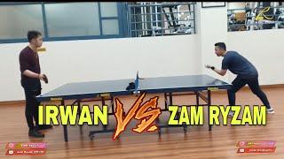 ADU PING PONG (ZAM RYZAM VS IRWAN)
