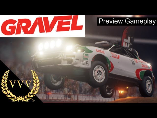 GRAVEL Preview Gameplay - Toyota Celica Rally Car