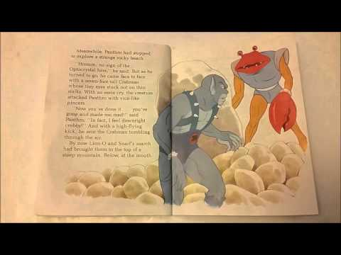 Thundercats Audio Book Quest for the Magic Crystal Memory Moment