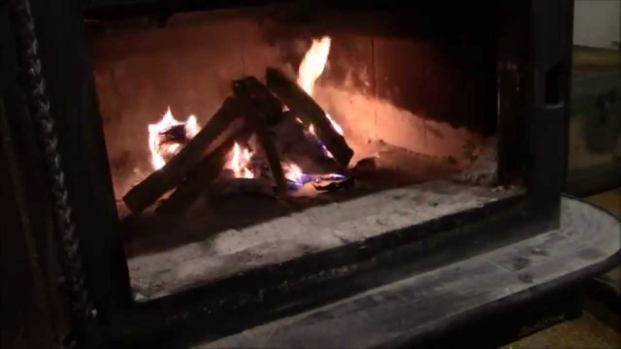 how to start a fire in a wood stove - How To Start A Fire In A Wood Stove - YouTube