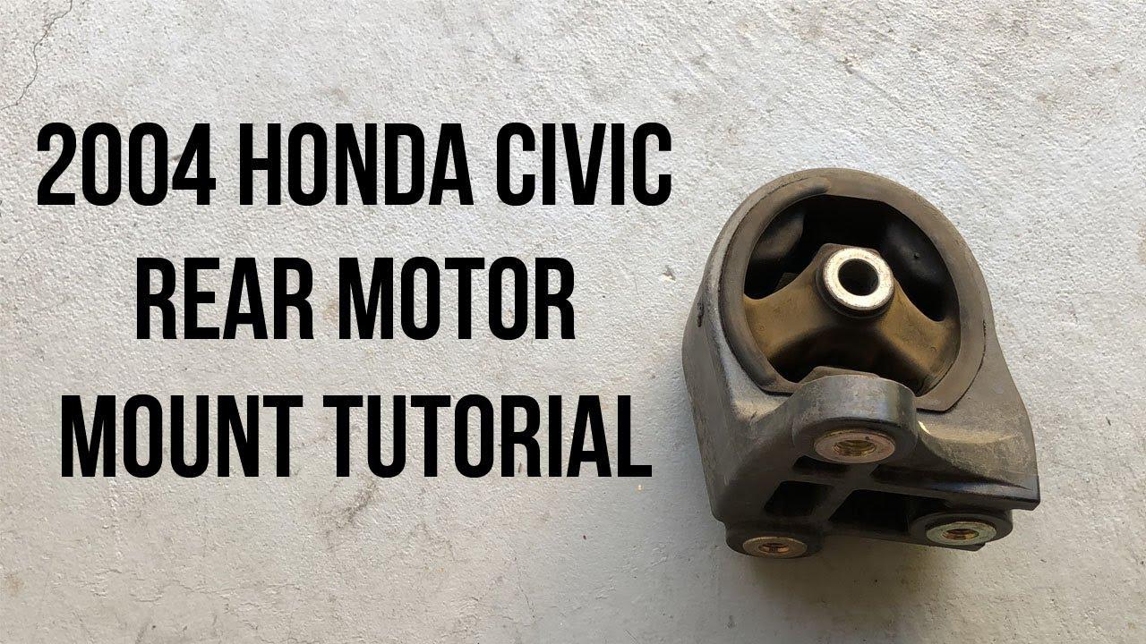 medium resolution of 2005 honda civic engine mount diagram
