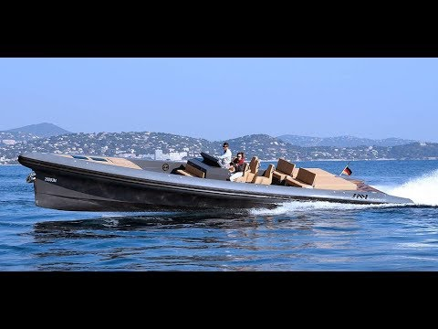 SAY RIB 45  full carbon fiber hull / 880hp / 3700kg total weight