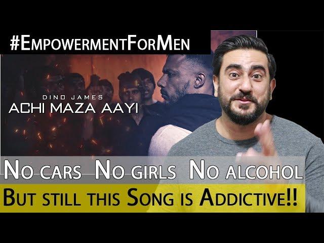 Dino James - Achi Maza Aayi Official Video | Reaction | IAmFawad Cinematics