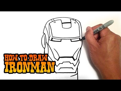 How to Draw Iron Man - Step by Step Video