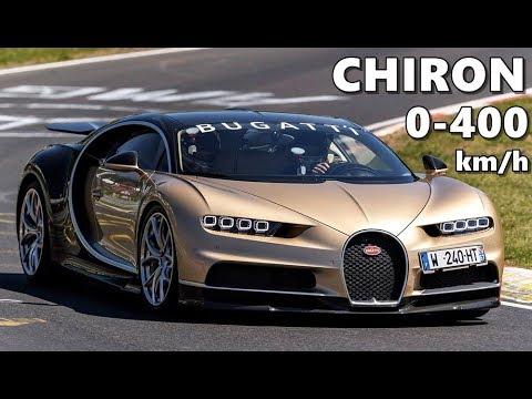 bugatti chiron acceleration test (0-400 km/h) - youtube