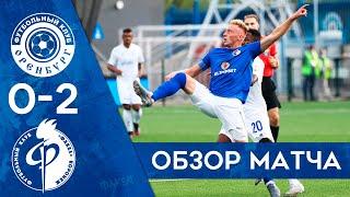 31.07.21 Видеоотчёт о матче Оренбург-Факел