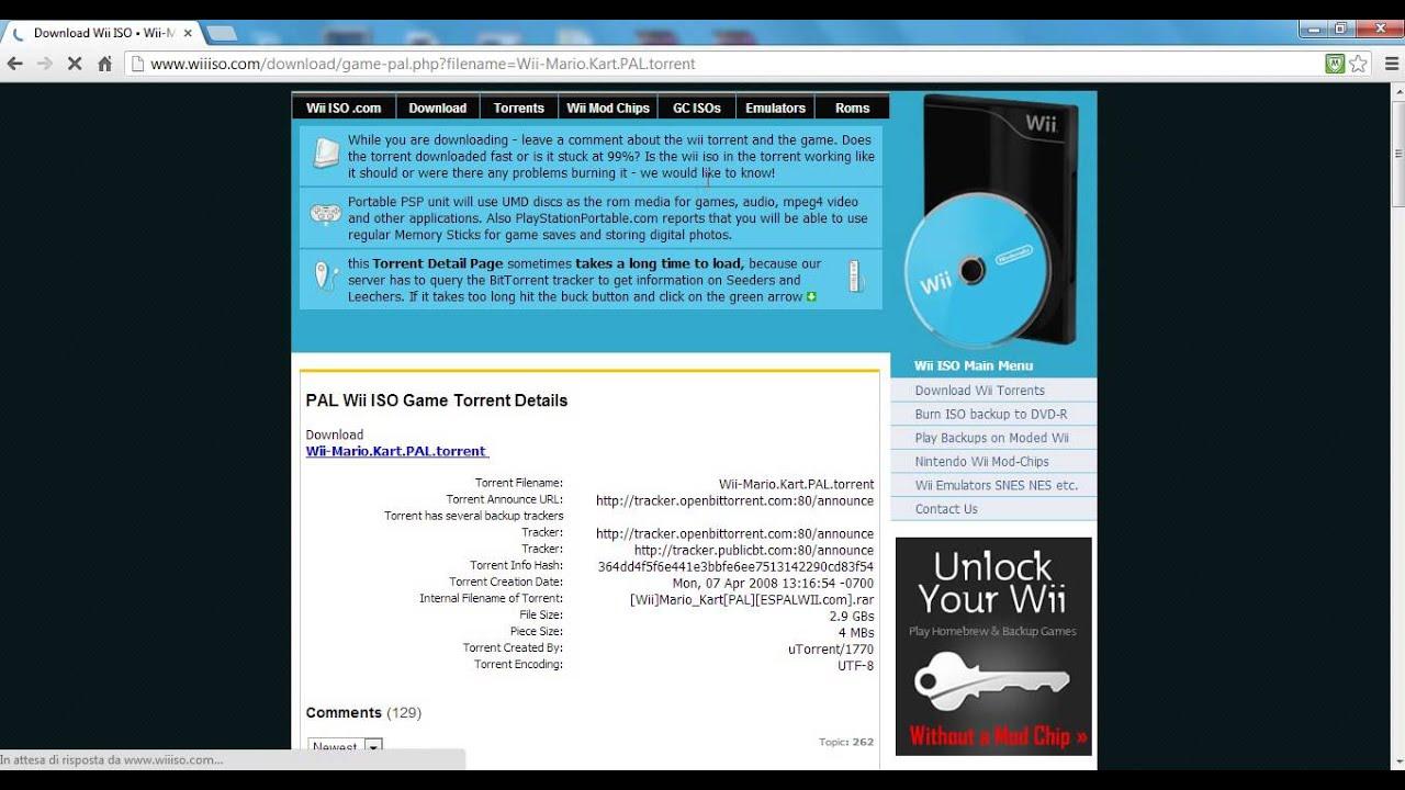 giochi wii con utorrent