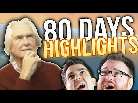 80 Days with Lewis's Dad - Livestream Highlights!