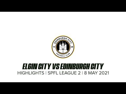 Elgin Edinburgh City Goals And Highlights