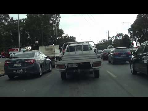Adelaide CBD to Virginia via North Sourth Road Greater Adelaide video Apr 2018