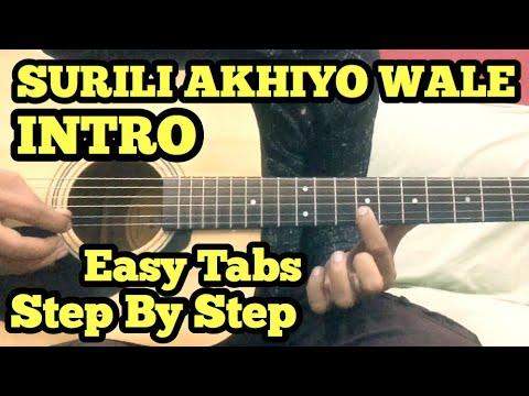 Surili Akhiyon Wale Guitar Tabs/Lead Lesson(intro) | Salman Khan | Veer | FuZaiL Xiddiqui