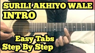 surili-akhiyon-wale-guitar-lesson-intro-salman-khan-veer-fuzail-xiddiqui