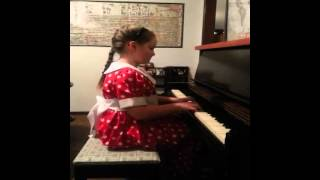 Grace Palmer performs French Children's Song and Little Playmates