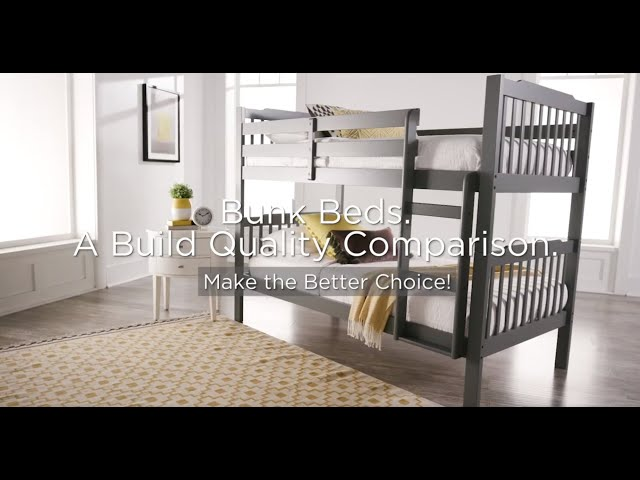 Bunk Beds- A Build Quality Comparison by iNSPIRE Q