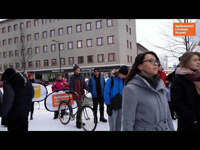Ilmastomarssi Savonlinnassa 15.03.2019