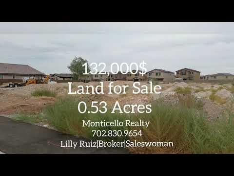 Land for sale,North Las Vegas