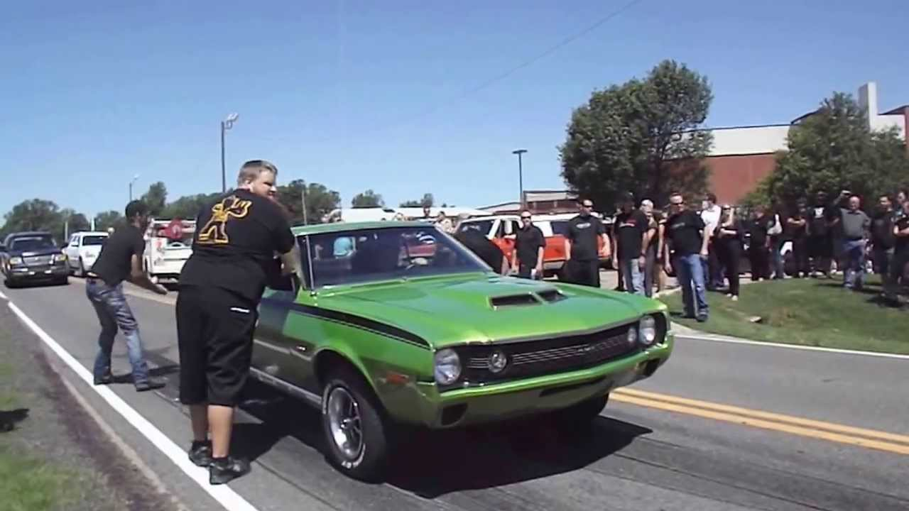 Burnouts In Honor Of Flip Street Outlaws Youtube