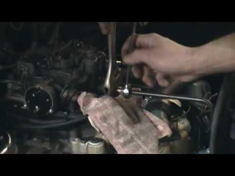 How to replace a fuel filter on a Rochester Quadrajet 4 barrel carburetor