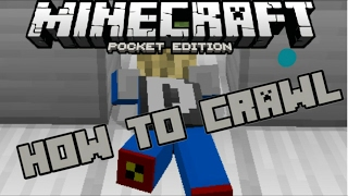 Deluxe mcpe-minecraft and more how to crawl in minecraft pe