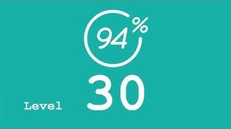 94 Prozent (94%) - Level 30 - Las Vegas - Lösung