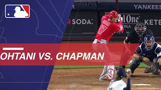 Shohei Ohtani takes on Aroldis Chapman in New York