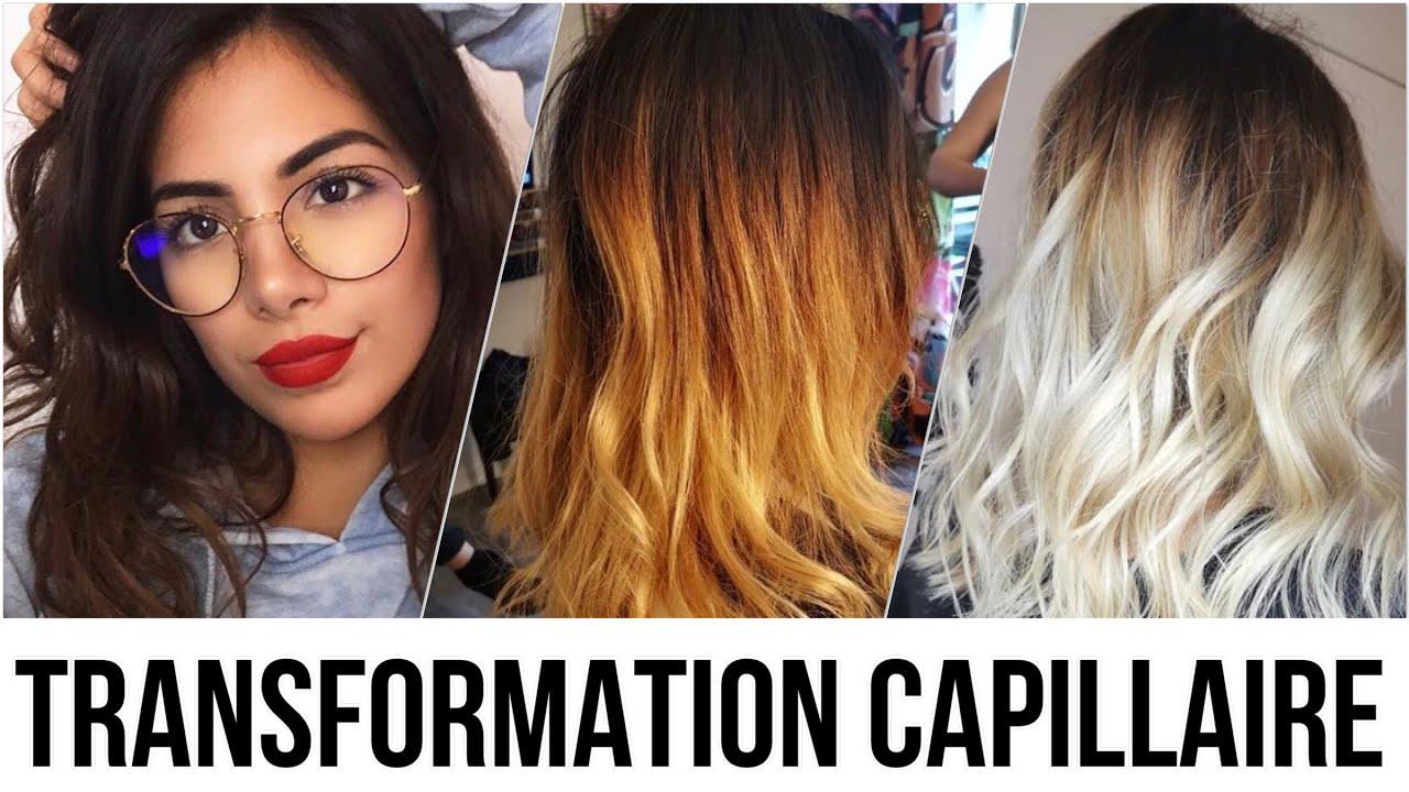 De brun à blond polaire  TRANSFORMATION CAPILLAIRE ✔️